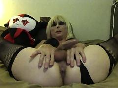 Sexy Tasha Dirty Talk Crossdresser Babe Shows Ass
