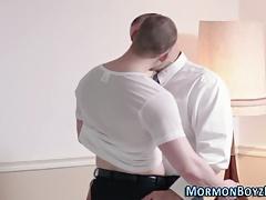Mormon elder stripped