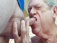 Dentured sucking and enjoying it- Joh
