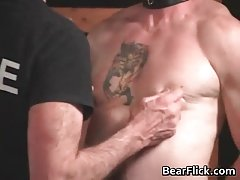 Gay bear punishment by dirty gay cops