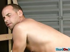 Some serious gay ass rimming and stuffing