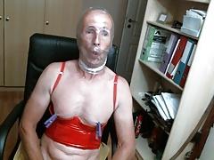 olibrius71 bondage, prolapse, clamps nipples