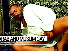 Arab gay vicious, muslim Libyan cumming on prayer carpet