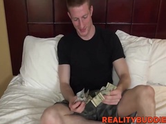 Kyle seduced and fucked in hotel room
