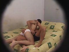 Hot Rimming On Hidden Cam