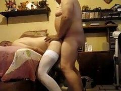 grandpa and his bitch