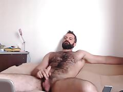 Hairy with Cumshot