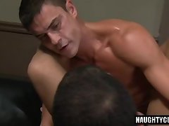 Big dick bottom oral sex and cumshot