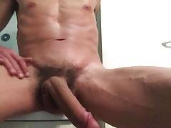 Ass fun in bath