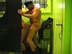 2 cops having sex in the bathroom
