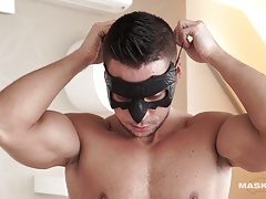 Maskurbate Extracting Hard Body Ennio's Sperm Sample