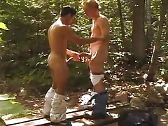 Boys Fucking in the Forest