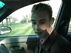 Yes Boy Suck my Cock in my Car