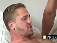 Teen boy likes that rock hard penis inside his corhole