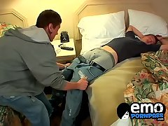 Hot ass Cameron and Poul jerking and blowing each other