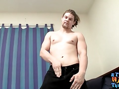 Wolf Gunmetal loves unloading his manhood in the shower