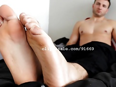 Foot Fetish - Chris Feet Part21 Video1