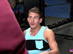 Straight Boxer versus Cock Devouring Foe