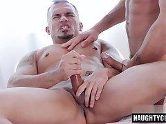 Big dick doctor anal sex and facial
