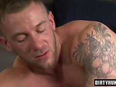 Muscle twink anal and facial
