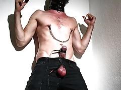 POPPERED ELECTRO CUMSHOT