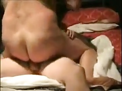 Two mature men fucking in the bedroom