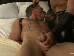Trent Diesel enjoys a hook in his ass and gets brutally fucked