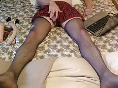 plaid skirt part 1 of 4