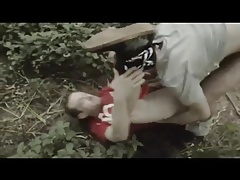 Raw fuck in the forrest
