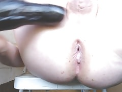 Sunrise Curvy Butt Anal JoeyD Dildo Lover