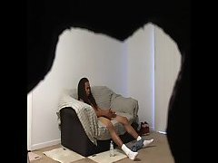 Black gay hidden cam masturbating