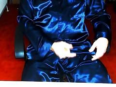 Pyjama shiny glanz satin