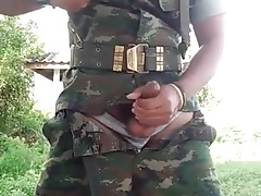 asian Soldier