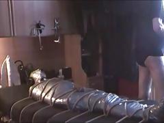 The making of my tape mummification