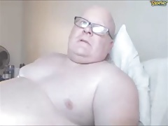 Chubby Guy on Cam