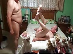 Young Chubby Fucks Older Guy
