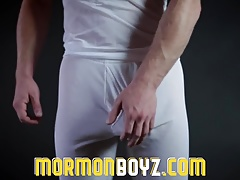 Mormonboyz - Naked young stud punished for his transgression