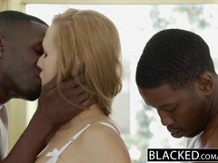 BLACKED Wife Layna Landry First Interracial Threesome
