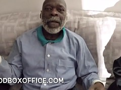 Black grandpa dick suck by my ex girlfriend and daughter