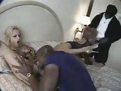 Up Your Ass sc1 : blonde dp by blacks