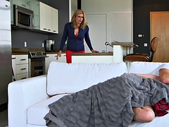 Stepmom Cory Chase and Bailey Brooke threesome