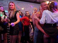 クラブ, 気狂い, ダンス, グループ, オージー, パーティ