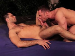 Russian gay foot fetish with cumshot