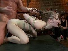 Sensi Pearl gets fucked hard in public