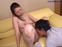 Milf Getting Her Unshaved Cunt Licked Sucking Youthful Fucked