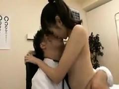 Pretty Japanese teen has a kinky doctor thoroughly examinin