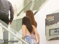 Maddy O'Reilly gives Sister-In-Law Squirting Lesson!