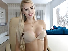 Blond, Russisch, Webcamera