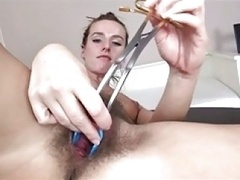 Unshaved Beautie With Gyno Sex Sextoy BVR