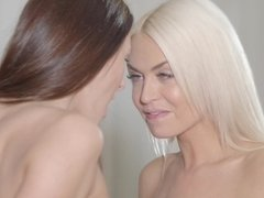 Amazing lesbian video with alluring Kira Zen and Lena Love